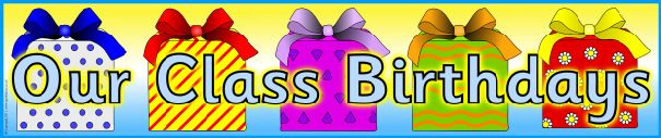 Gifts and tags birthday timeline set (SB5521) - SparkleBox