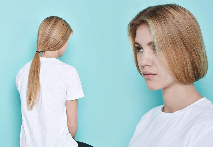 Инструкция:  4 быстрых прически  для прямых волос. Изображение № 2.