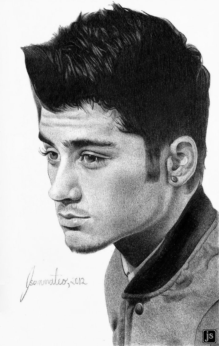 Zayn Malik..this is an intense drawing .