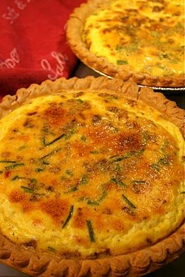 Quiche for breakfast or anytime of day