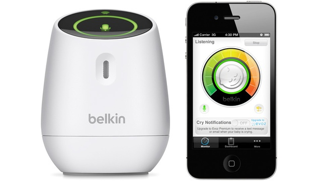 This just seems like something you'd like @Mindy Switzer: Belkin's WeMo Baby Monitor Turns Your iPhone Into a Nanny