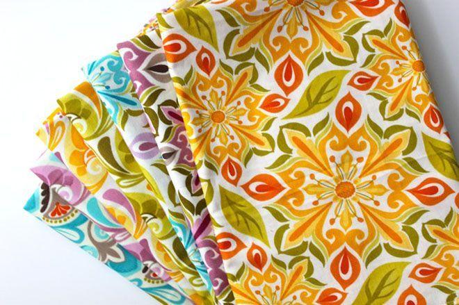 Cloth napkin tutorial: Gift, Idea, Stylish Cloth, Cloths, Sewing Machine, Sided Napkin, Cloth Napkins