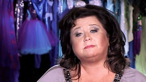 When someone's best just isn't enough: | An Abby Lee Millerism For Every Occasion
