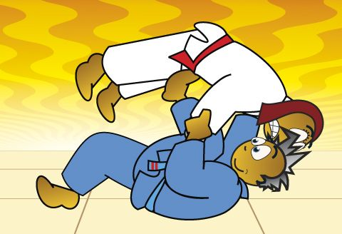 Great Koka Kids resources: Tomoe_Nage, better performed than Kev was able on me last night! #Ouch