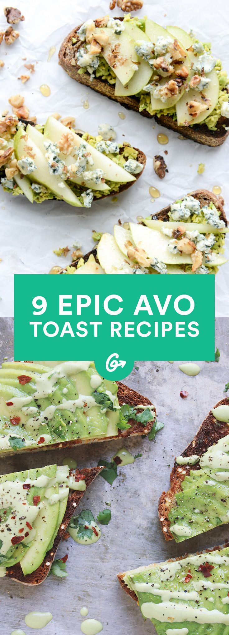 9 Excuses for Eating Avocado Toast Every Single Day #healthy #recipes #avocado http://greatist.com/eat/avocado-toast-recipes