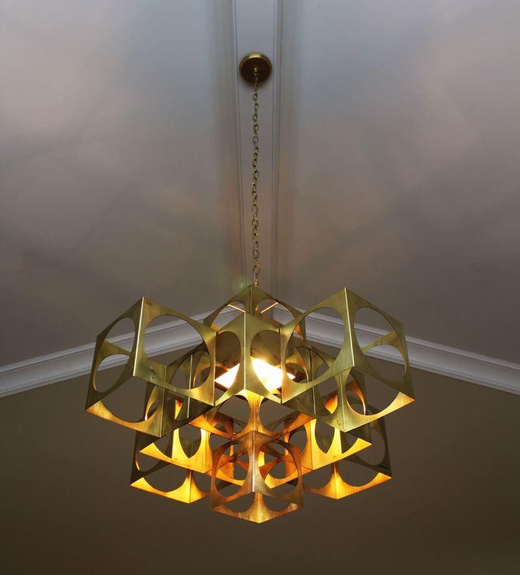 Custom fixture by vanessa bell unique light want one omegalightingdesign com