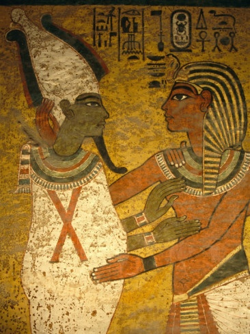 Tomb King Tutankhamun, Valley of the Kings, Egypt - My Great Grandfather visited the Valley of the kings on the back of a donkey in 1917 - before the discovery of this tomb, totally unaware of the wonderful treasure that lay beneath his feet.