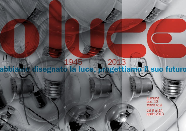1945 we are designed the light, 2013 we project its future