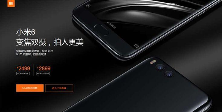 La prima vendita flash di Xiaomi Mi 6 in Cina è stata un successo e il devicesiè esaurito in pochi secondi; il prezzo del Mi 6, con 64 GB di archiviazione, è di 360 dollari, mentre il modello con 128 GB di memoria costa 420 dollari.Un terzo modello, concorpo in ceramica e 128GB di...