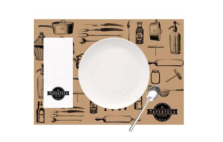 Gastrobar La Tapeoteca. Creando experiencia gráfica para esta nueva experiencia gastronómica.