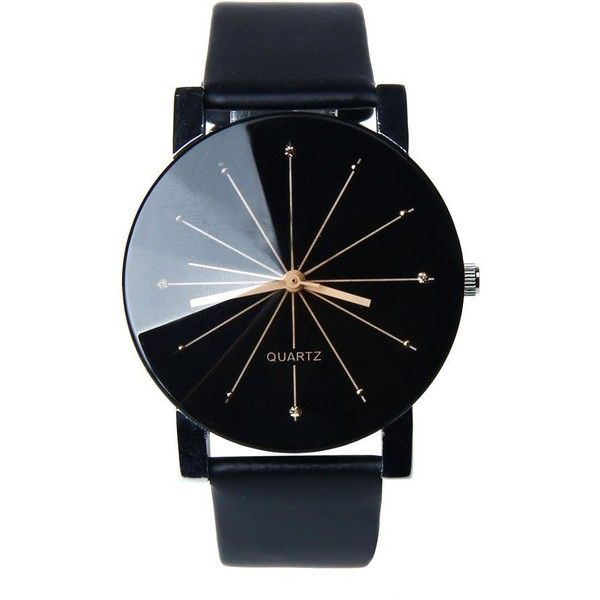 Women Quartz Watch ($19) ❤ liked on Polyvore featuring jewelry, watches, quartz wrist watch, quartz jewelry and quartz watches