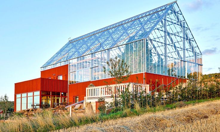 Sweden's house-in-a-greenhouse grows food sustainably with recycled wastewater   Inhabitat - Sustainable Design Innovation, Eco Architecture, Green Building