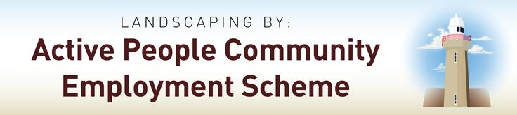 Dibond Sign for Active People Community Employment Scheme.