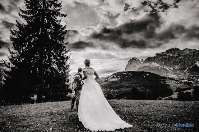 Alessandro e Monica   Cortina d'Ampezzo   fotografie di matrimonio nelle Dolomiti