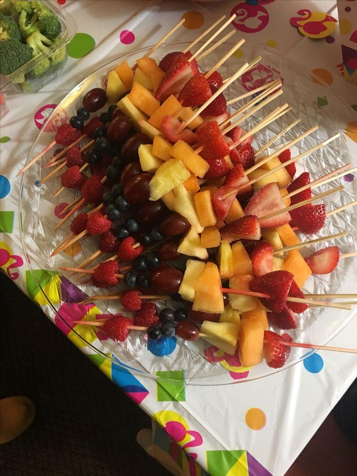 Barbie Fruit kebabs 😋