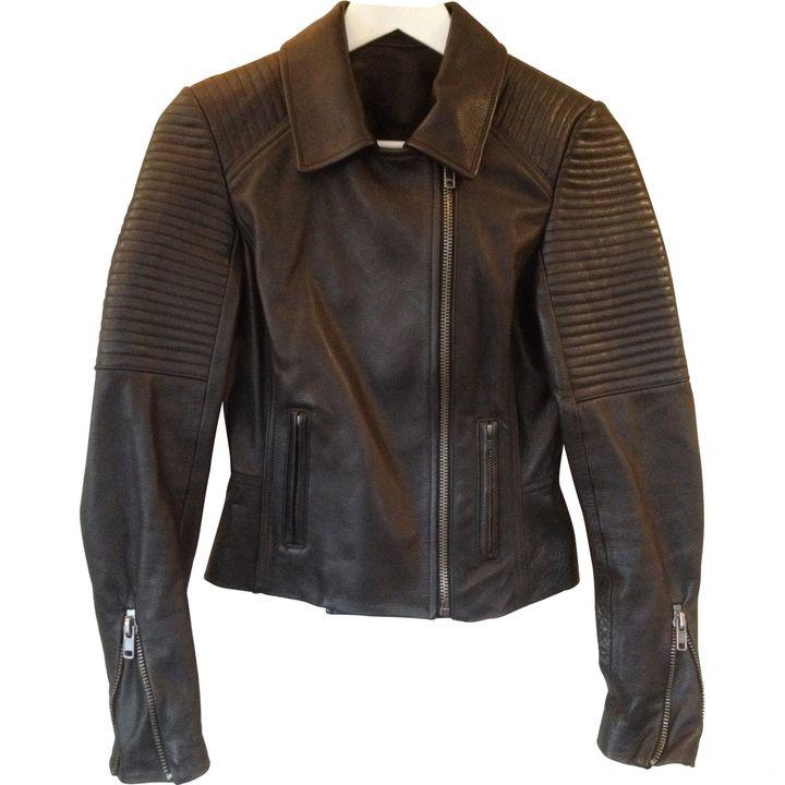 A.L.C Black Leather Jacket