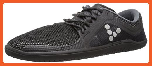 Vivobarefoot Women's Primus Road Running Shoe, Black/Charcoal, 36 EU/6-6.5 US M US - Athletic shoes for women (*Amazon Partner-Link)