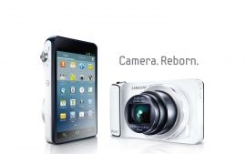 galaxy phone camera with samsung zoom lens