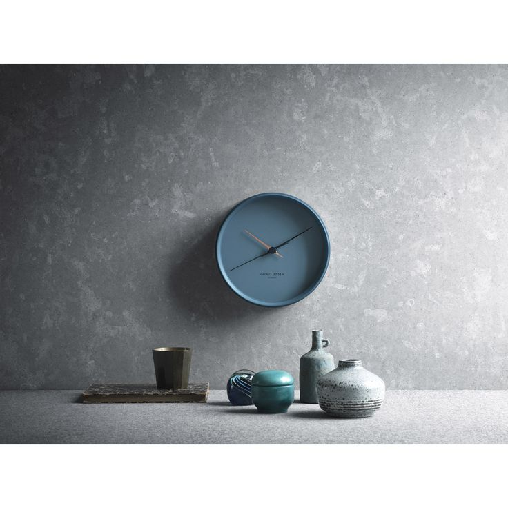 Koppel wall clock, Blue