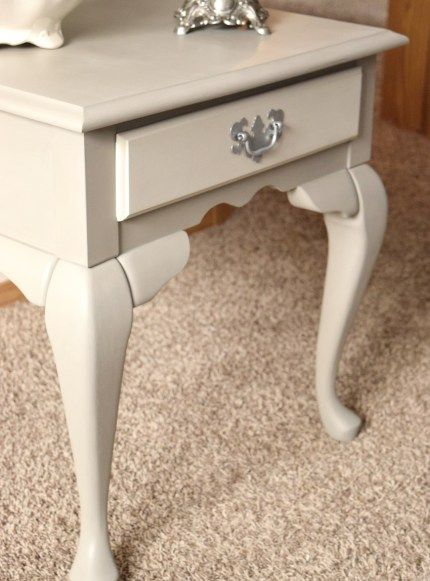 French Linen Table Restyle | Timeless Creations, LLC French style, painted…