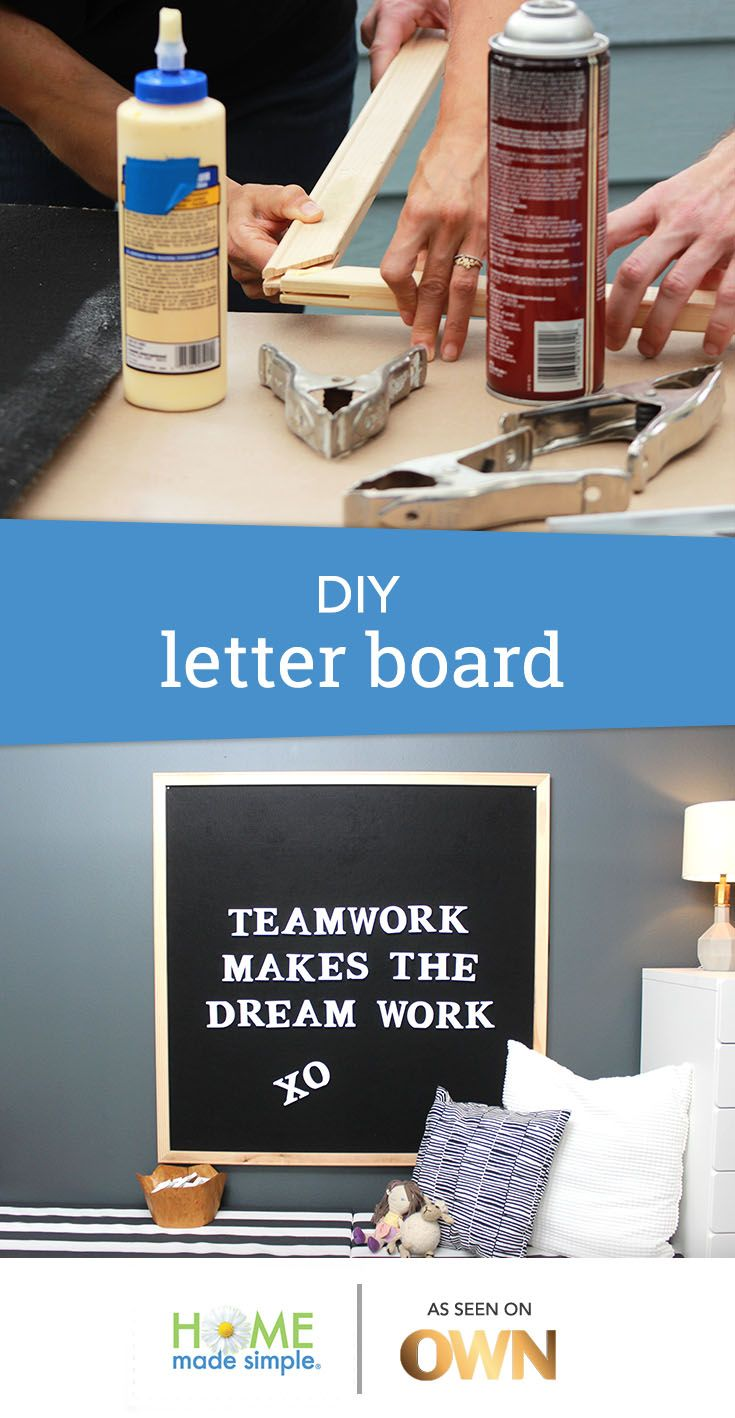 Diy Letter Board Home Made Simple