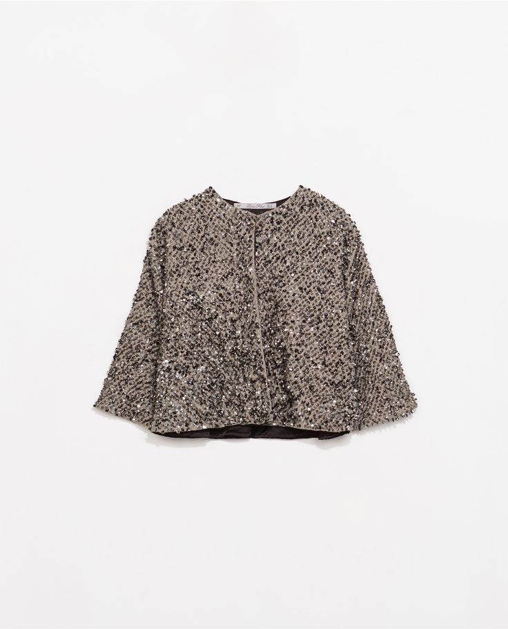 Image 8 of SEQUINNED JACKET from Zara