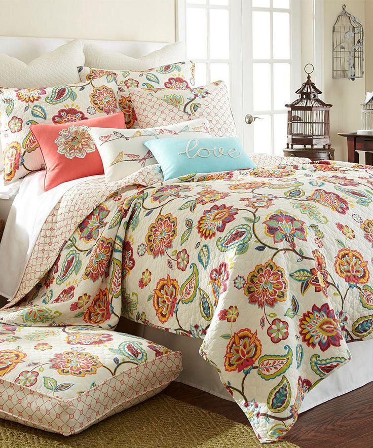 Love this Cascade King Quilt Set by Levtex Home on #zulily! #zulilyfinds