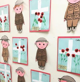 Wow, everything you need to study Remembrance Day or Veterans Day. There are materials for both the Canadian and the American versions of this holiday. Theres ELA and Crafts activities for primary grades.