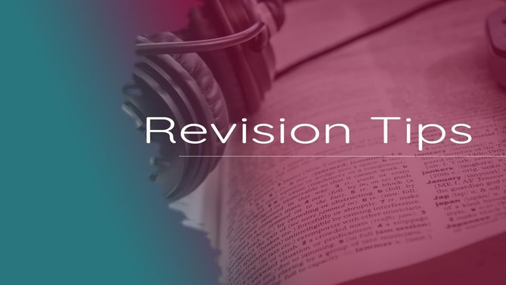 Learning English Online - REVISION TIPS