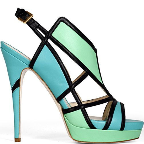 Love this shoe by Burak Yuan: Wake Burak, Fashion Shoes, Burakuyan, Shoes Fetish, Shoes Fashion, High Heels, Spring 2012, Colors Blocks, Shoes Shoes
