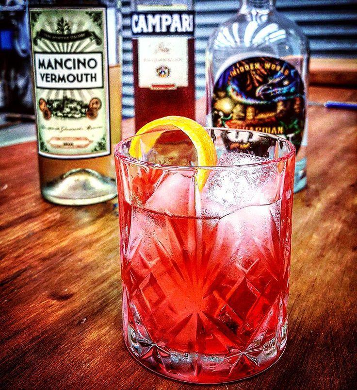 Negroni week is here people get out there and get tasting! @negroniweek @hiddenworld_gin @campari #negroniweek #gin #ginoclock #ginstagram #hiddenworldgin #hiddenworld #craftgin #ginspiration  #ginzealand #nzgin #newzealand #negroni #nzfoodie #negronioclock #newzealandgin