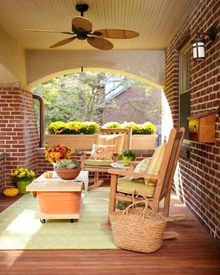 30 Gorgeous Farmhouse Front Porch Design Ideas Freshouz Com: 80 Best Images About Pretty Porches & Outdoor Spaces On