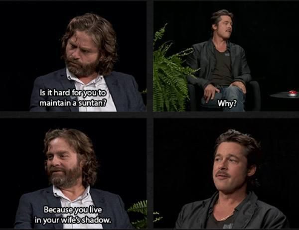 Between Two Ferns, seriously so funny