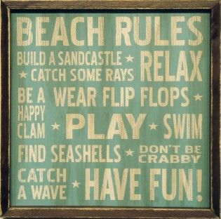 vintage beach house decor - Google Search