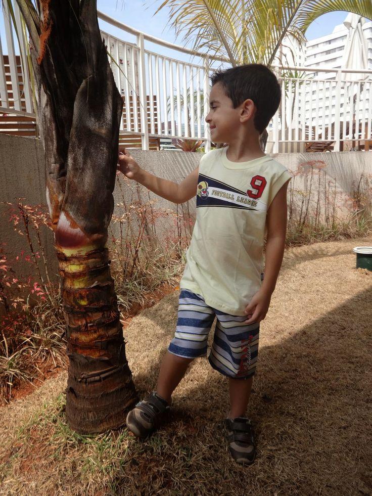 Liberdade e conforto - Looks de Verão para Meninos – Flavio veste Elian