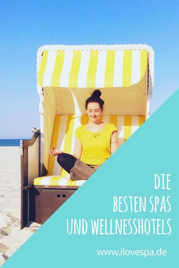 Die besten Spas und Wellnesshotels an Nordsee, Ostsee und in ganz Deutschland findet ihr auf I LOVE SPA!