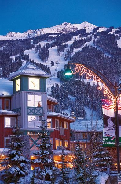 Beautiful Whistler, Canada. My condo is literally just off to the right side of this photo :) -MissDiana