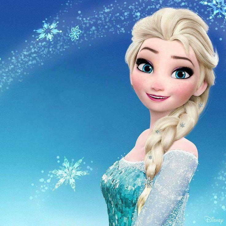 Lovely Snow Queen Elsa.