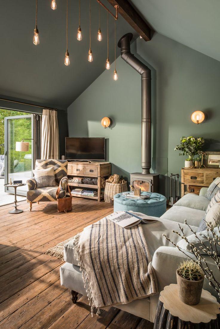 adelaparvu.com despre casa mica in Marea Britanie, turcoaz si lemn si caramida, casa de oaspeti, The Sanctuary, Unique Home Stays, Foto Unique Home Stays (22)