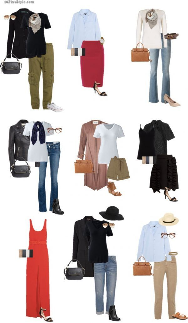9 looks inspired by Jennifer Aniston's style | 40plusstyle.com