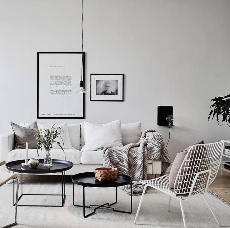 Sunday night living room inspo via @greydeco.se #urbancouturedesigns #greylivingroom #scandinaviandesign
