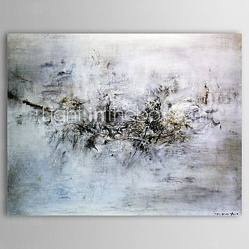 käsin maalattu öljymaalaus abstrakti maisema 2016 - €77.41