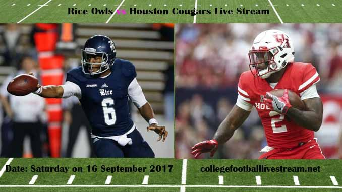 Rice Owls vs Houston Cougars Live Stream Teams: Owls vs Cougars Time: 8:00 PM ET Week-3 Date: Saturday on 16 September 2017 Location: TDECU Stadium, Houston, TX TV: ESPN NETWORK Rice Owls vs Houston Cougars Live Stream Watch College Football Live Streaming Online The Rice Owls is a very new...