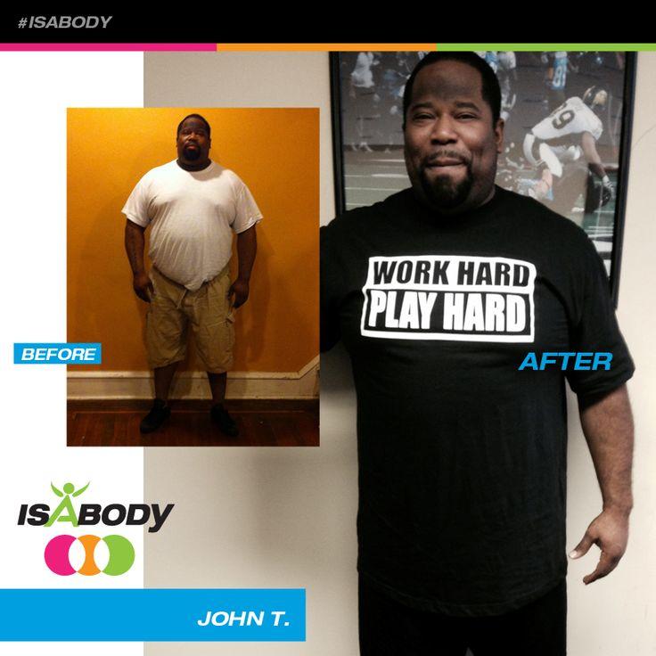 Your hard work paid off John, you look terrific! #Isagenix Before And After