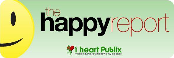 Publix Happy Report Unadvertised Publix Deals   The Happy Report 10/16