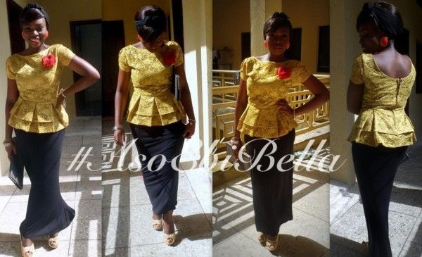 bellanaija asoebi aso ebi asoebibella nigerian traditional wedding guest gele 43