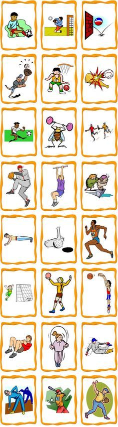 sports flashcards - Cerca con Google