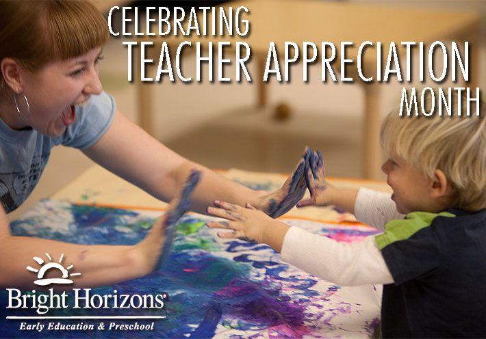 Celebrating Teacher Appreciation Month