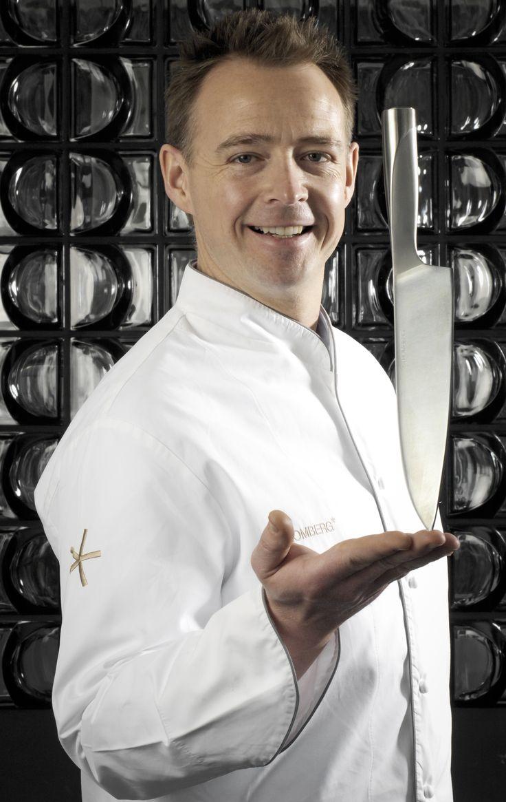 Ein scharfes Messer gehört in jede Küche. Auch in die von Holger Stromberg. (Foto: Erwin Lanzensberger)