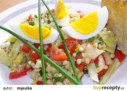 pohankový salát se zeleninou